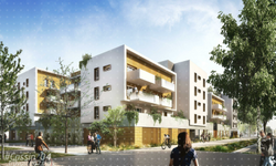 ZAC Chatelet à Grenoble : logements