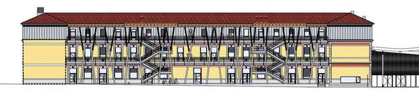 Rénovation Lycée F. Buisson à Voiron